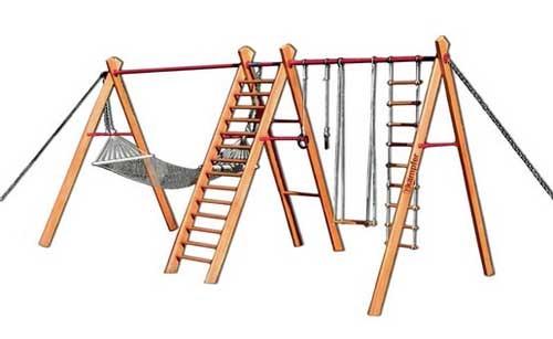 идеи для детской площадки схема комплекса