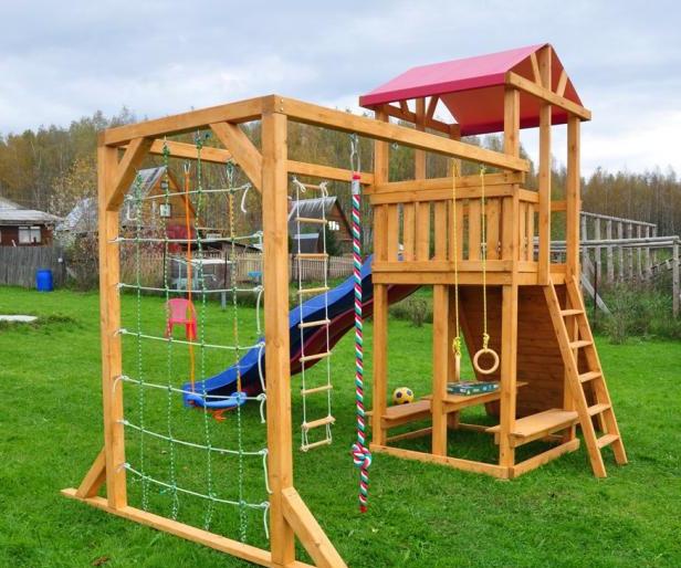 идеи для детской площадки спортивный комплекс